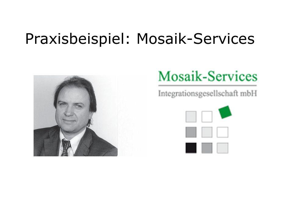 Praxisbeispiel: Mosaik-Services