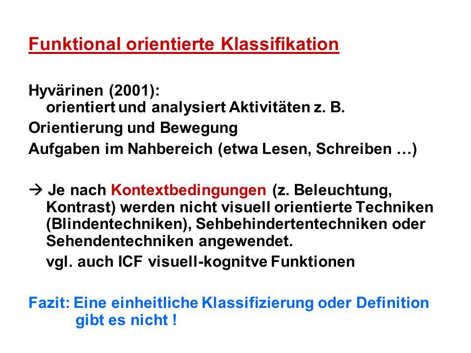 Funktional orientierte Klassifikation