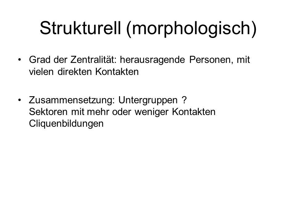 Strukturell (morphologisch)