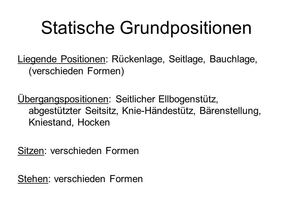 Statische Grundpositionen