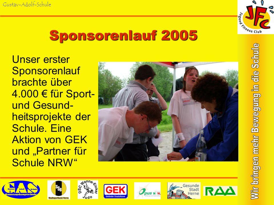 Sponsorenlauf 2005