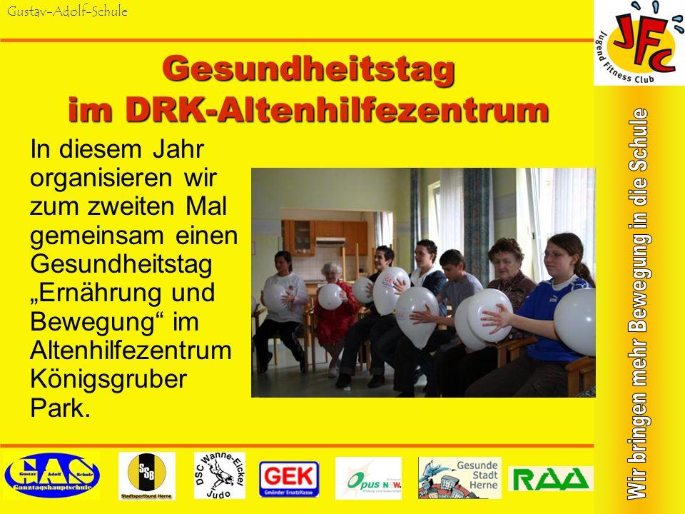 Gesundheitstag im DRK-Altenhilfezentrum