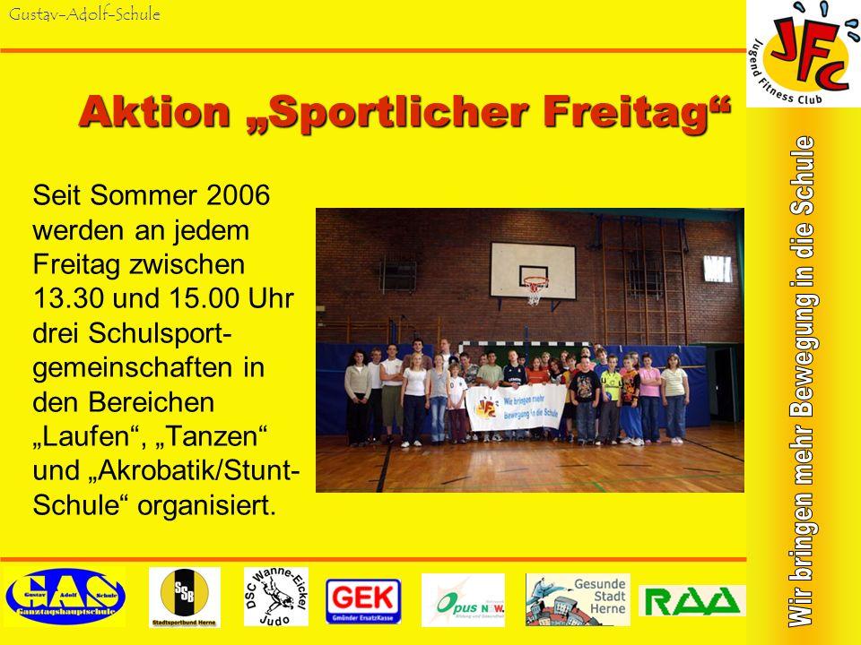 "Aktion ""Sportlicher Freitag"