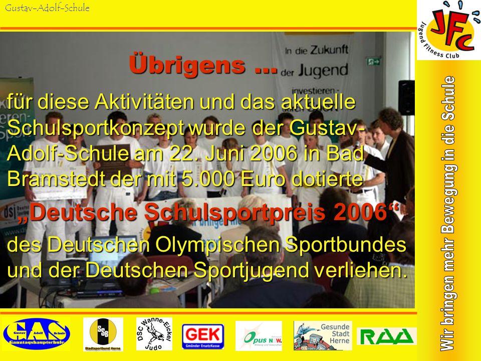 """""""Deutsche Schulsportpreis 2006"""
