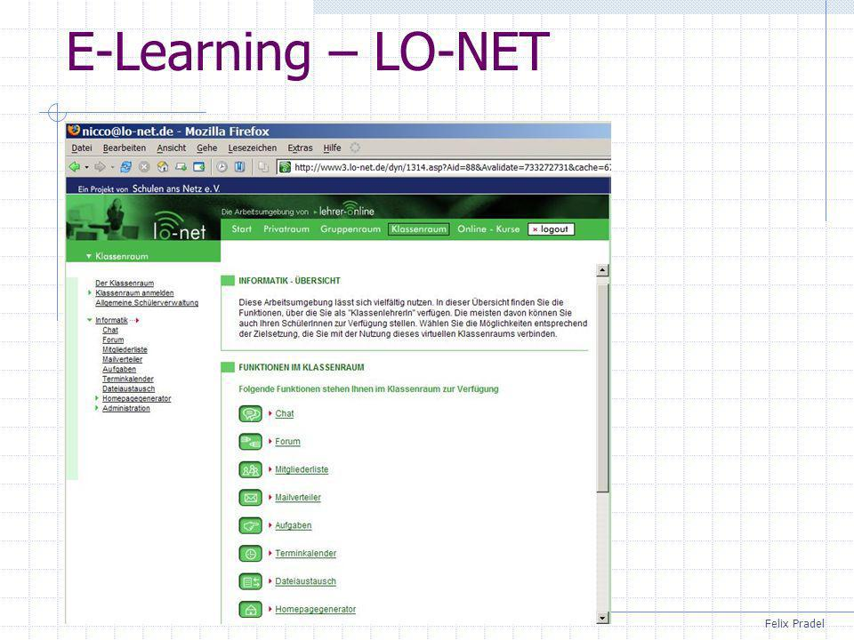 E-Learning – LO-NET