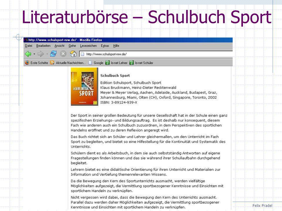 Literaturbörse – Schulbuch Sport