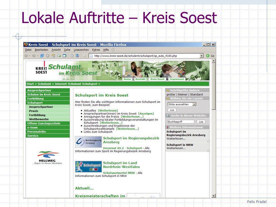 Lokale Auftritte – Kreis Soest
