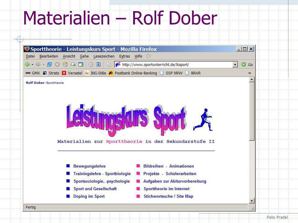 Materialien – Rolf Dober