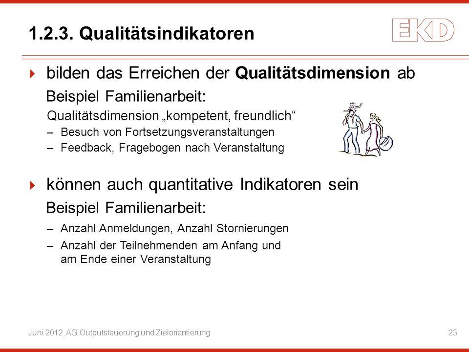1.2.3. Qualitätsindikatoren
