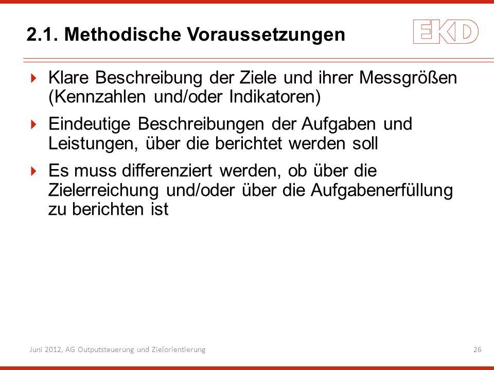 2.1. Methodische Voraussetzungen