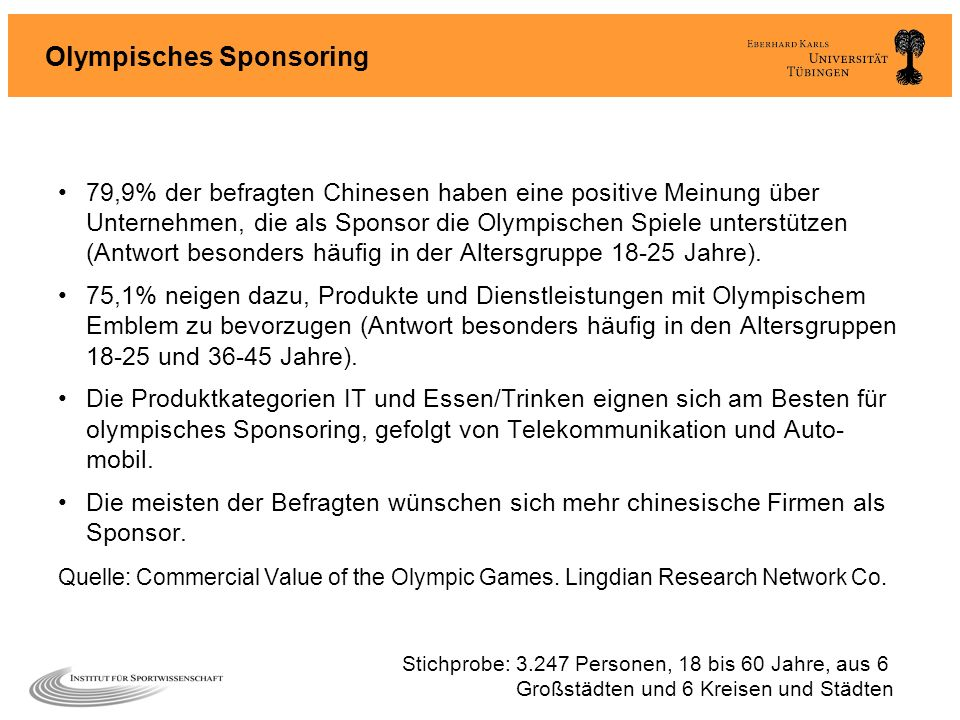 Olympisches Sponsoring
