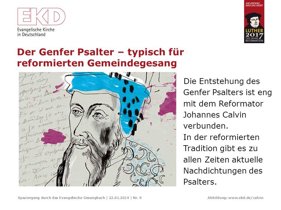 Der Genfer Psalter – typisch für reformierten Gemeindegesang