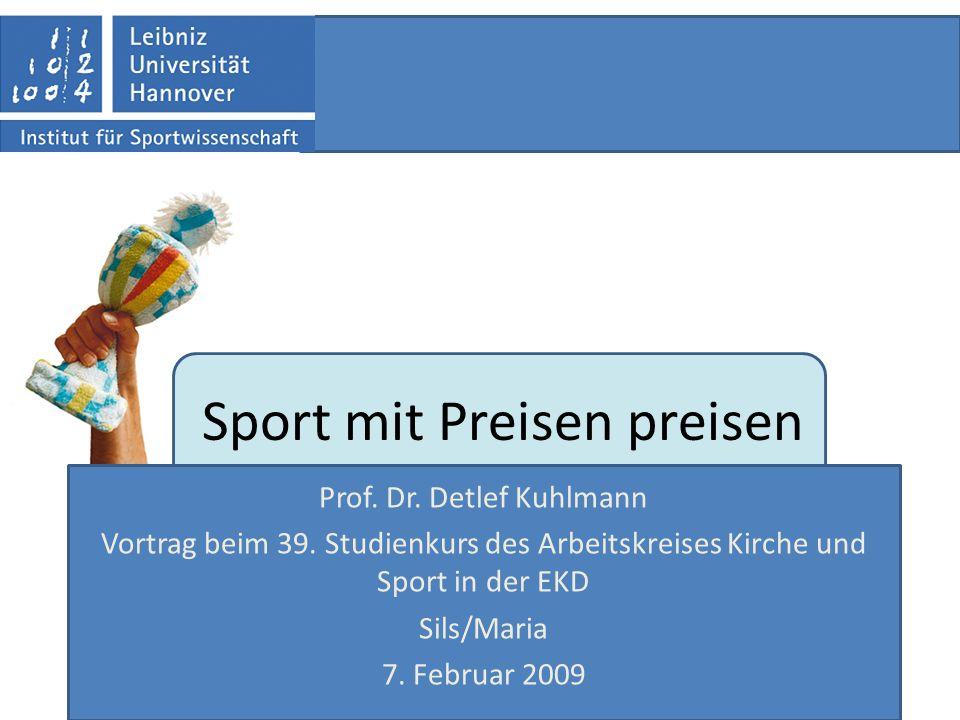 Sport mit Preisen preisen
