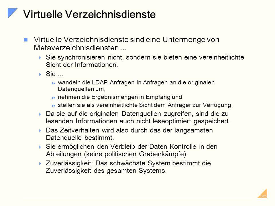 Virtuelle Verzeichnisdienste