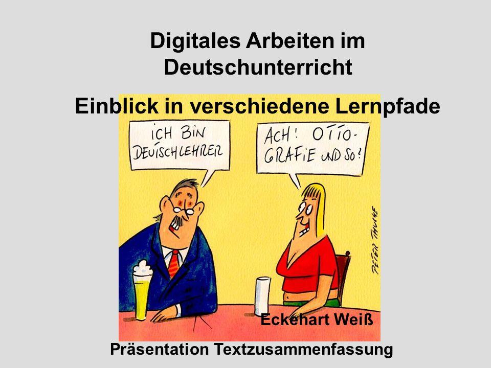 Digitales Arbeiten im Deutschunterricht