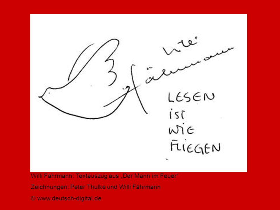 """Willi Fährmann: Textauszug aus """"Der Mann im Feuer"""