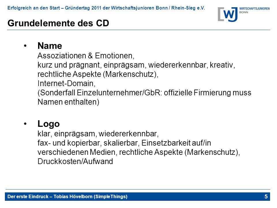 Grundelemente des CD
