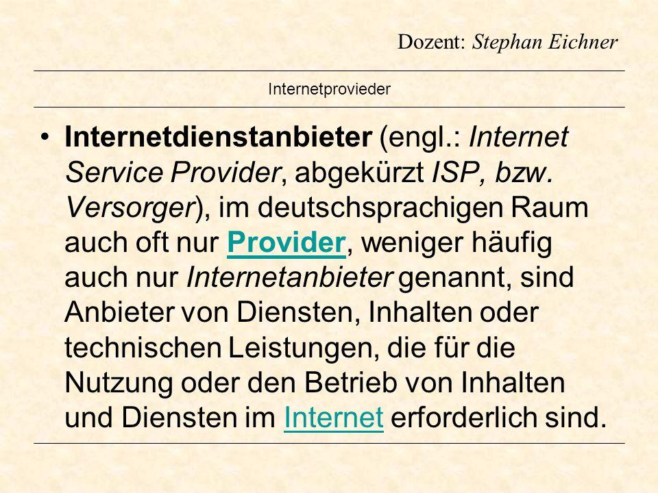 Internetprovieder