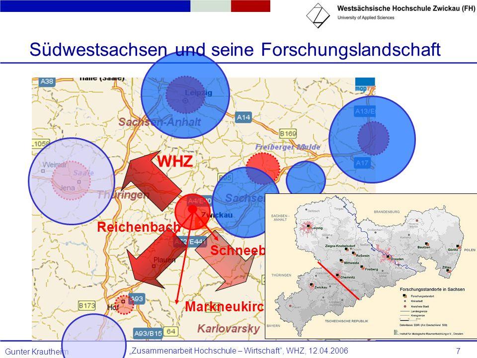 Südwestsachsen und seine Forschungslandschaft