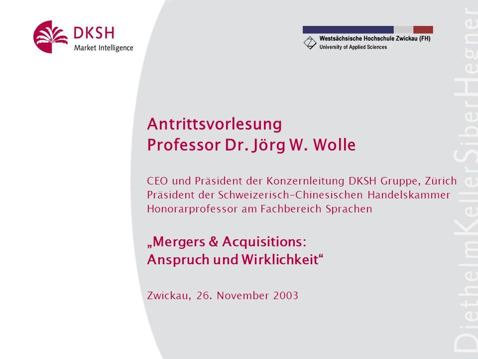 Antrittsvorlesung Professor Dr. Jörg W