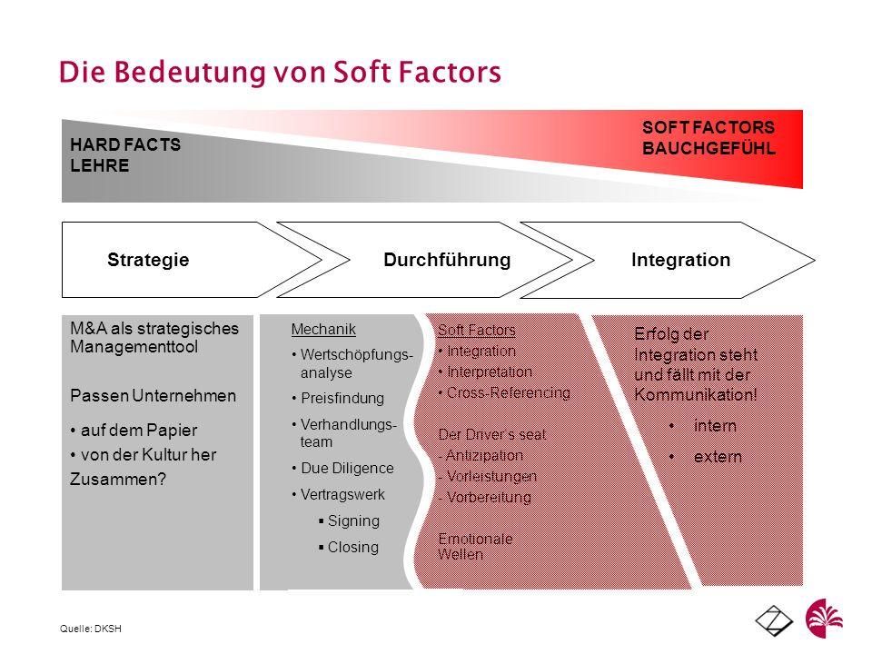 Die Bedeutung von Soft Factors