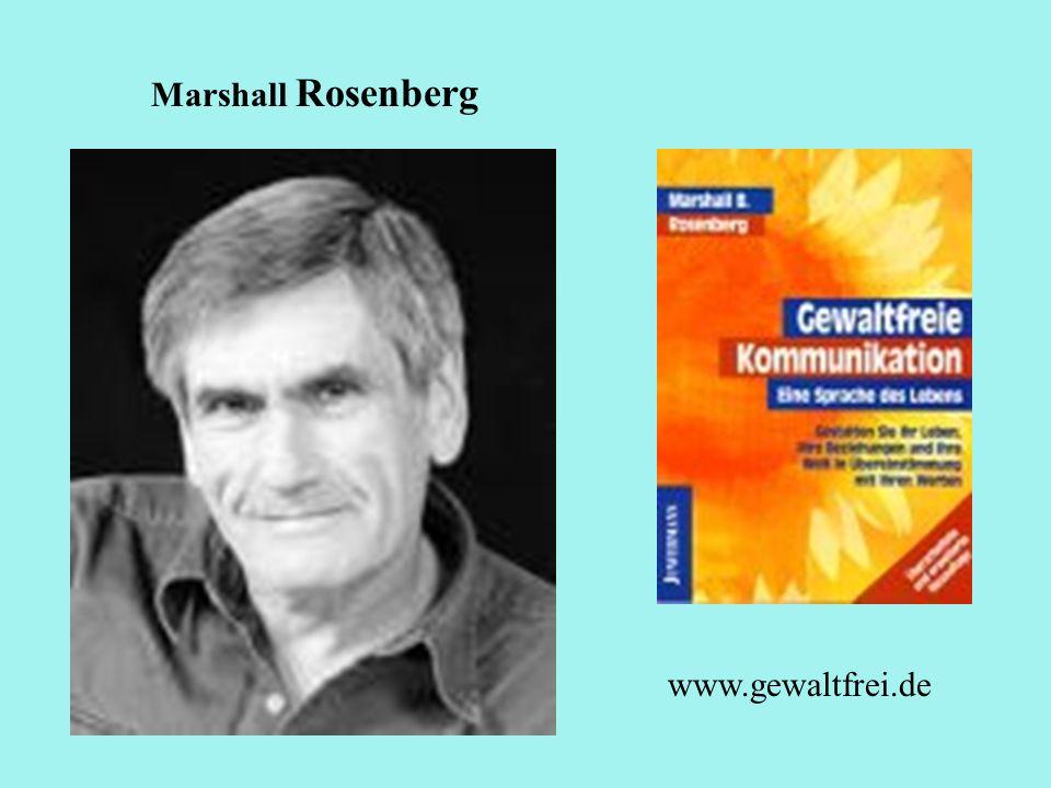Marshall Rosenberg www.gewaltfrei.de