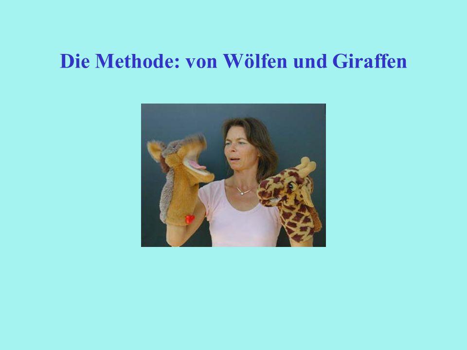Die Methode: von Wölfen und Giraffen