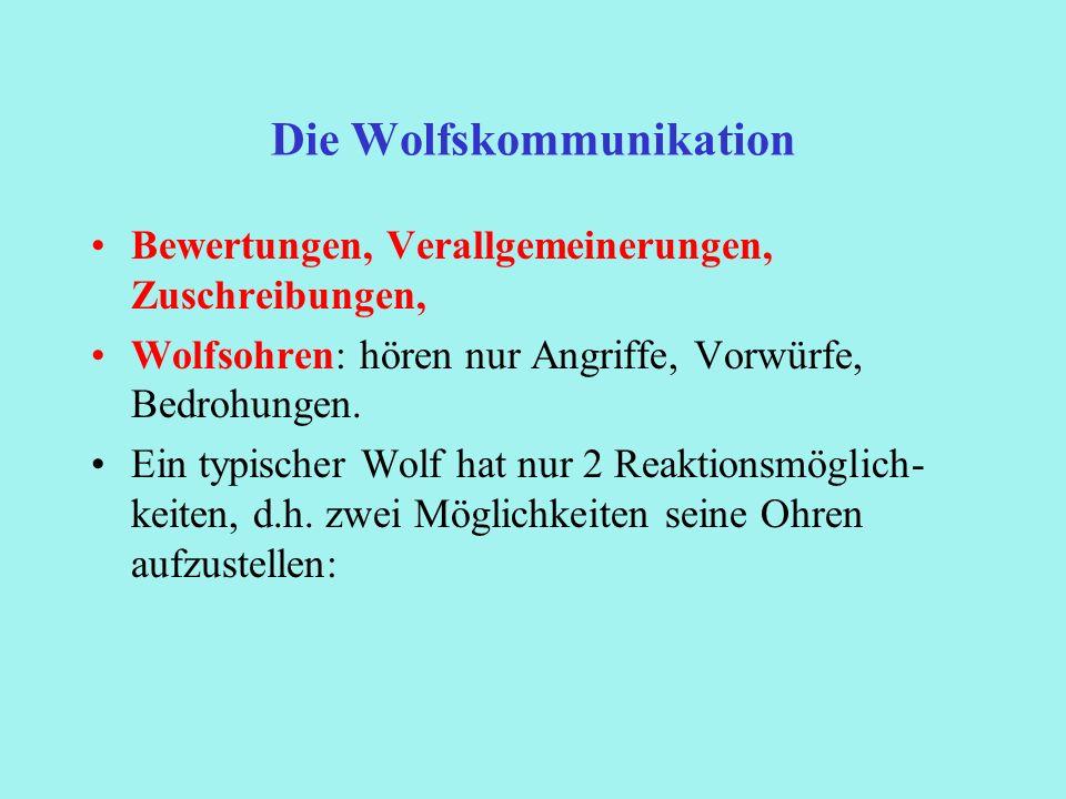 Die Wolfskommunikation