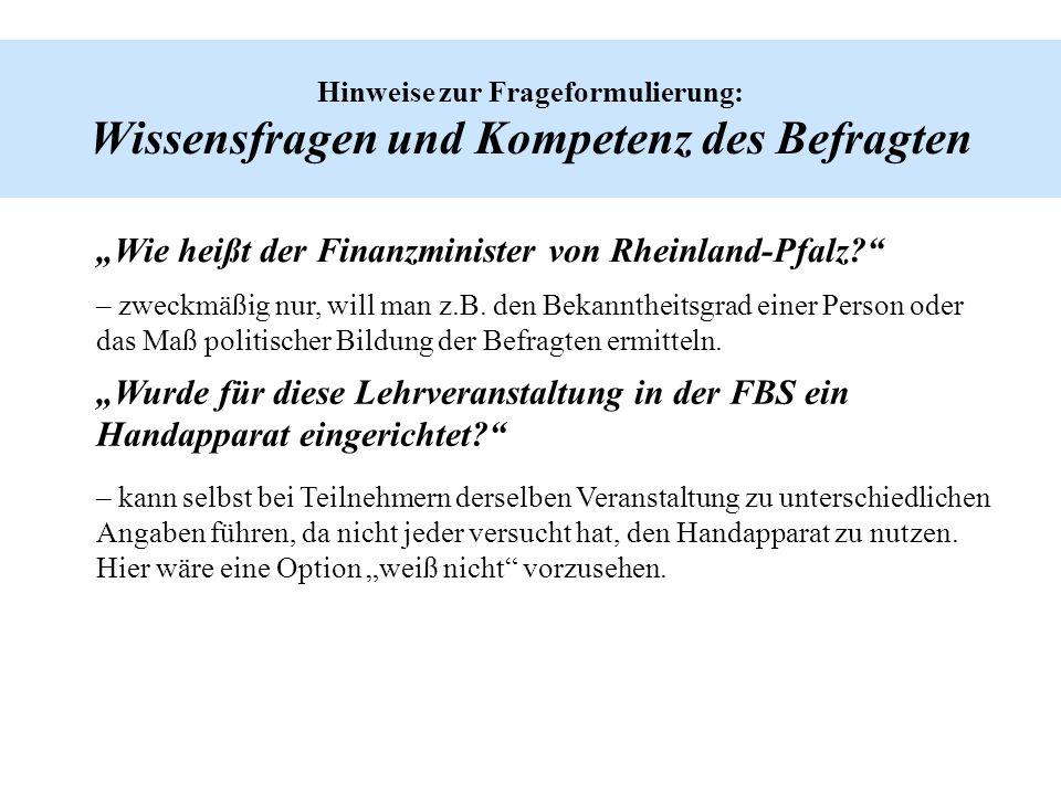 """""""Wie heißt der Finanzminister von Rheinland-Pfalz"""
