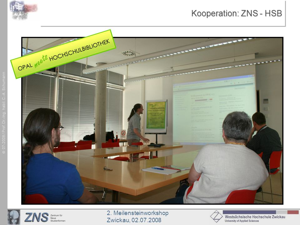 Kooperation: ZNS - HSB