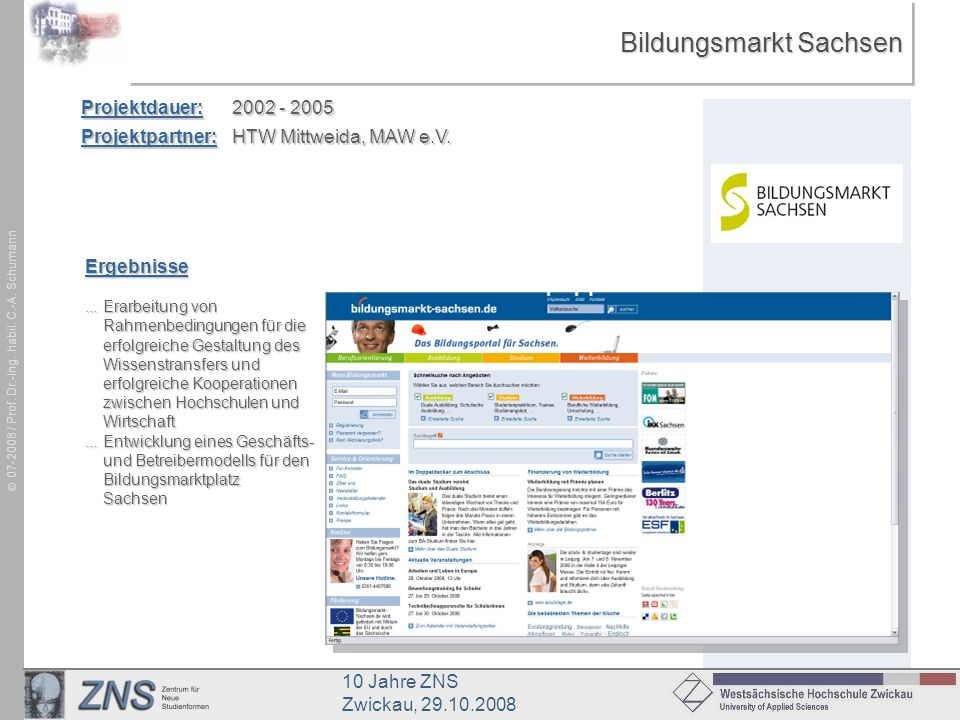Bildungsmarkt Sachsen