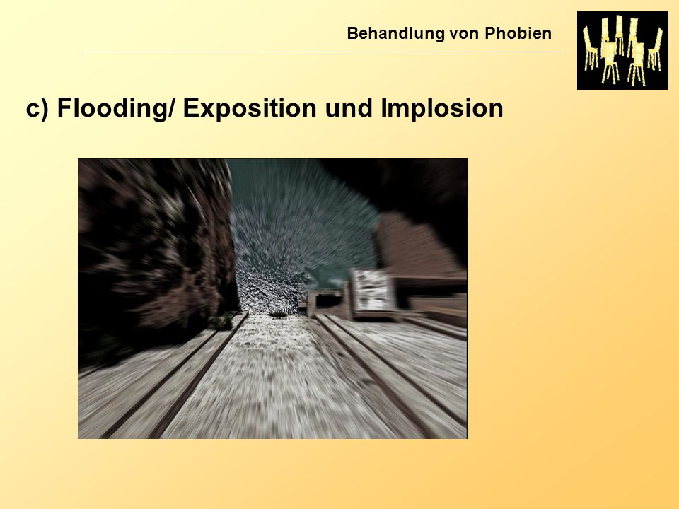 c) Flooding/ Exposition und Implosion