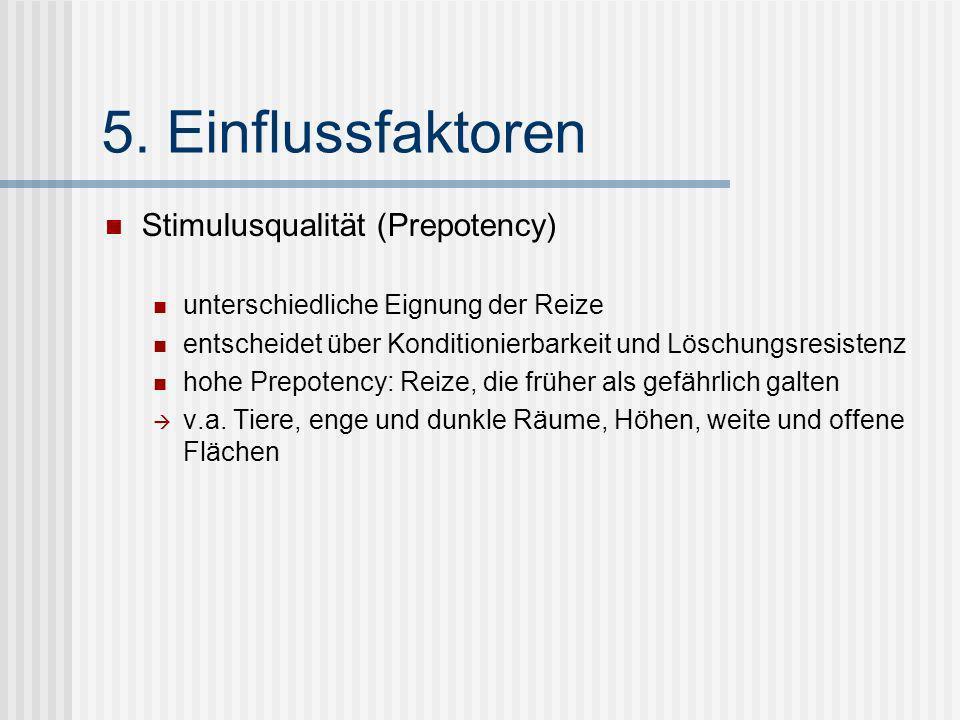 5. Einflussfaktoren Stimulusqualität (Prepotency)