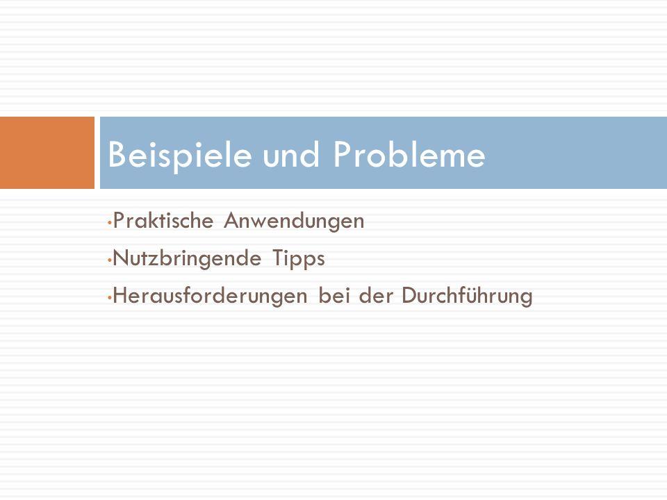 Beispiele und Probleme