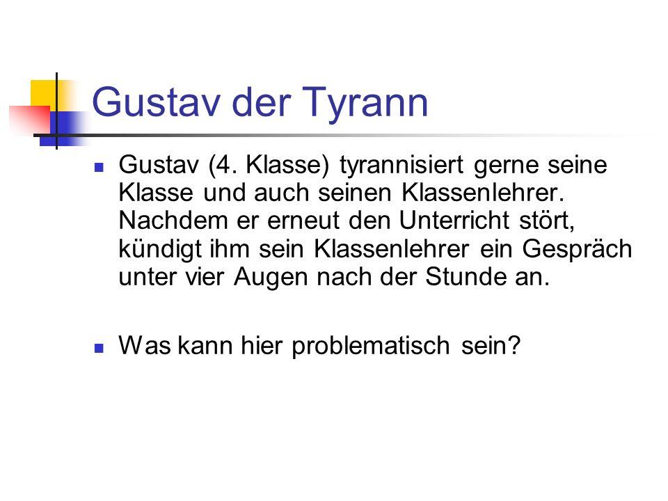 Gustav der Tyrann