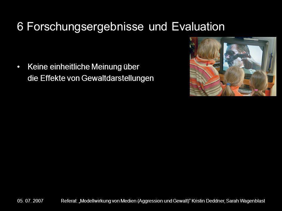 6 Forschungsergebnisse und Evaluation