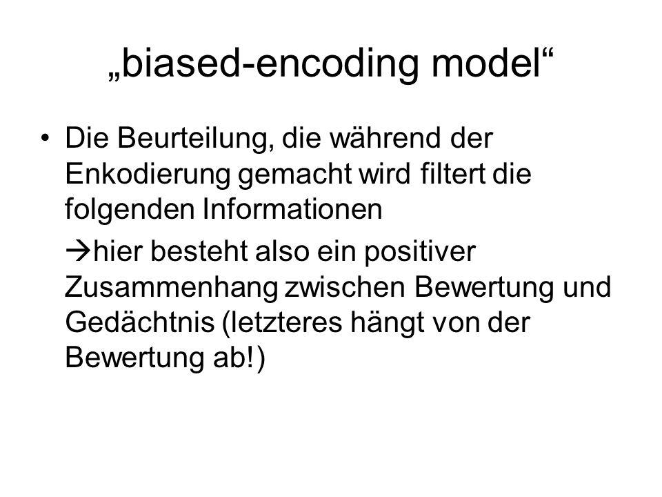 """""""biased-encoding model"""