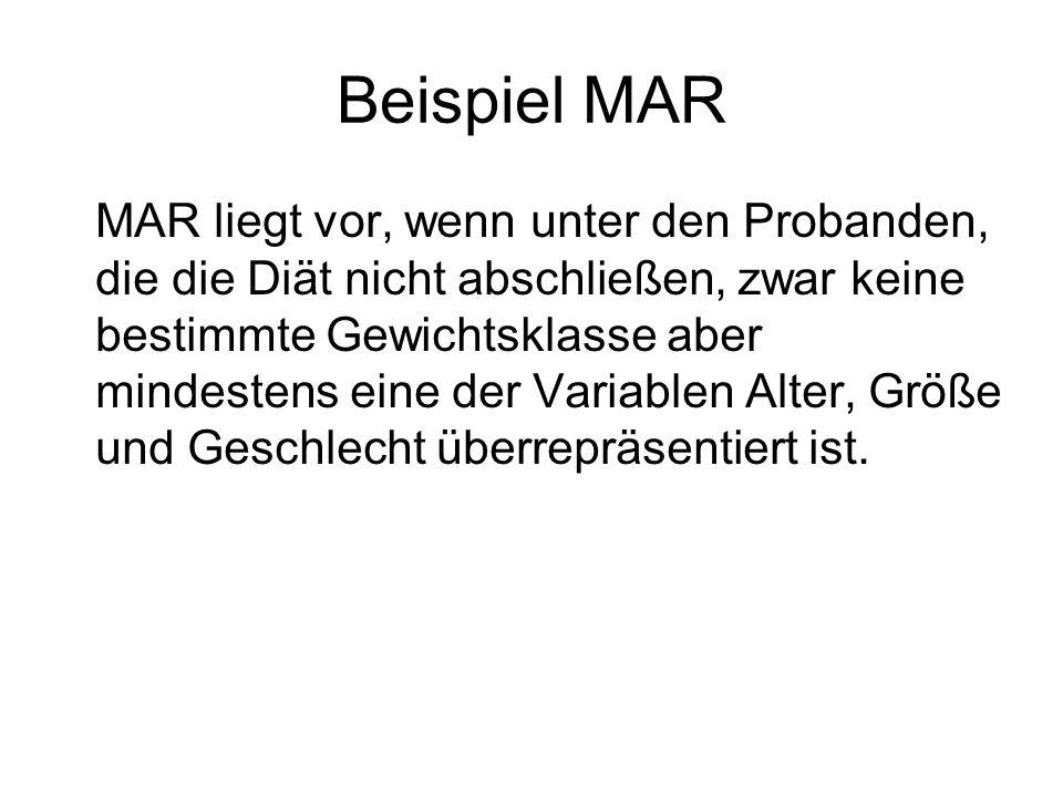 Beispiel MAR