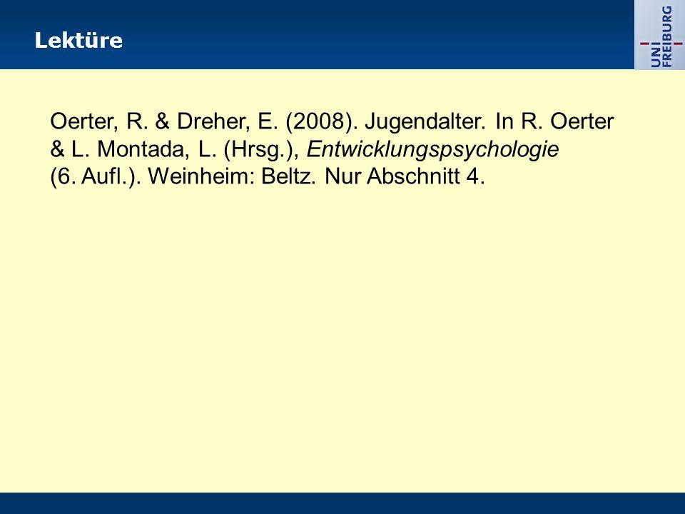 (6. Aufl.). Weinheim: Beltz. Nur Abschnitt 4.