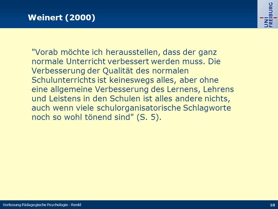 Weinert (2000)