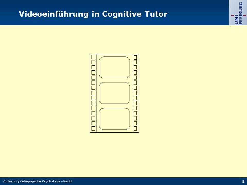 Videoeinführung in Cognitive Tutor