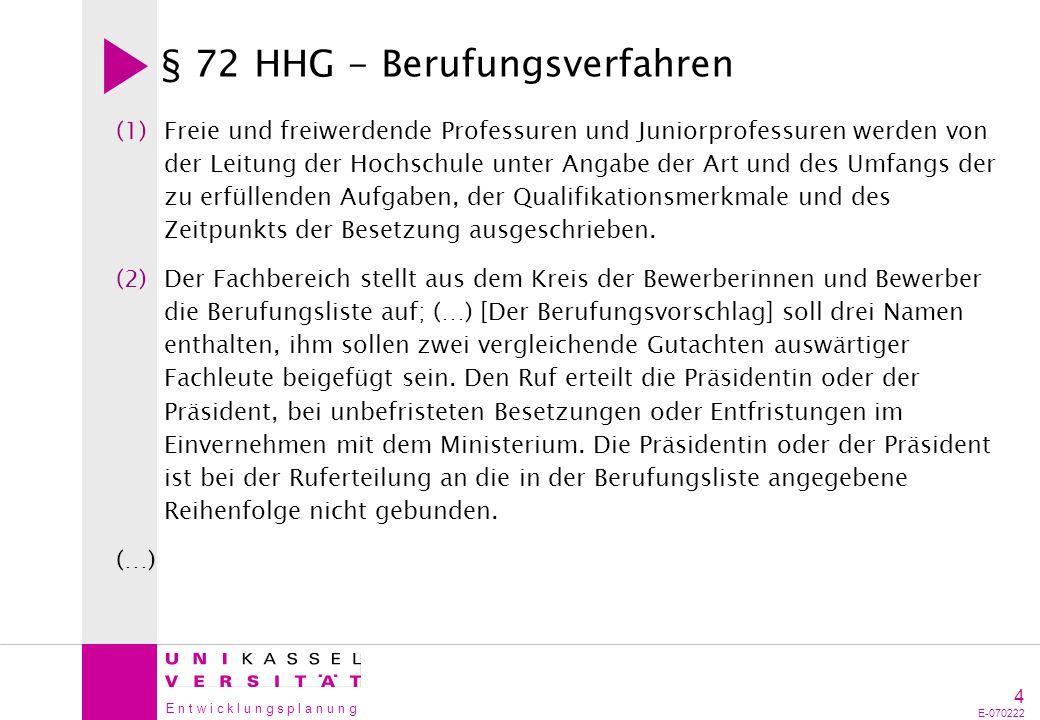 § 72 HHG - Berufungsverfahren