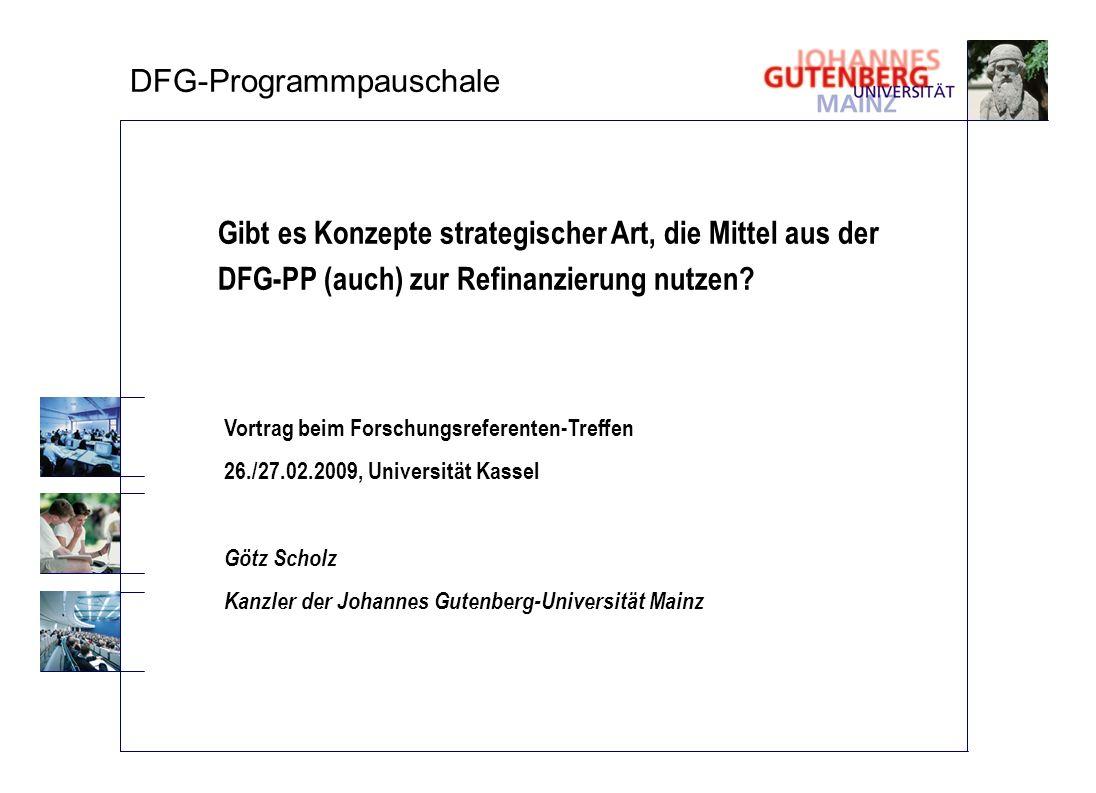 DFG-Programmpauschale