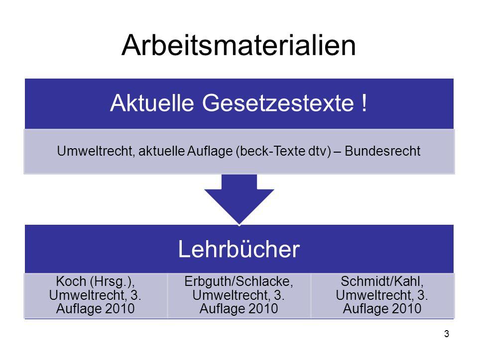 Arbeitsmaterialien Aktuelle Gesetzestexte ! Lehrbücher