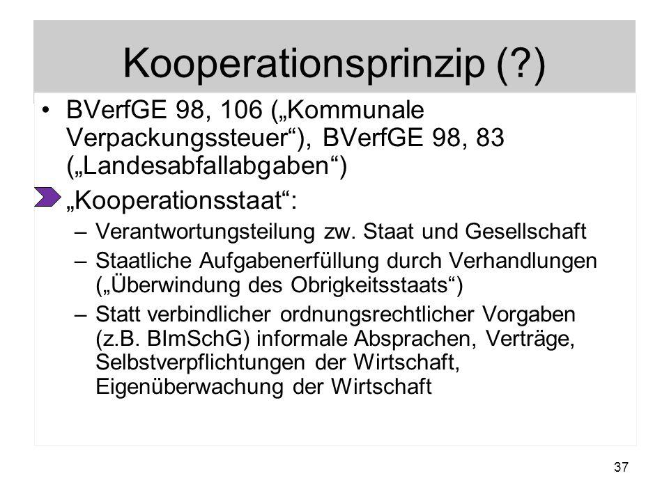 Kooperationsprinzip ( )