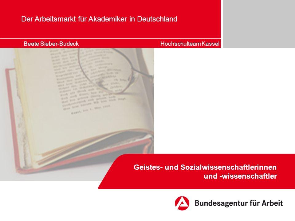 Der Arbeitsmarkt für Akademiker in Deutschland