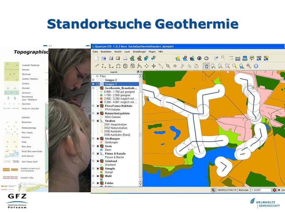 Standortsuche Geothermie