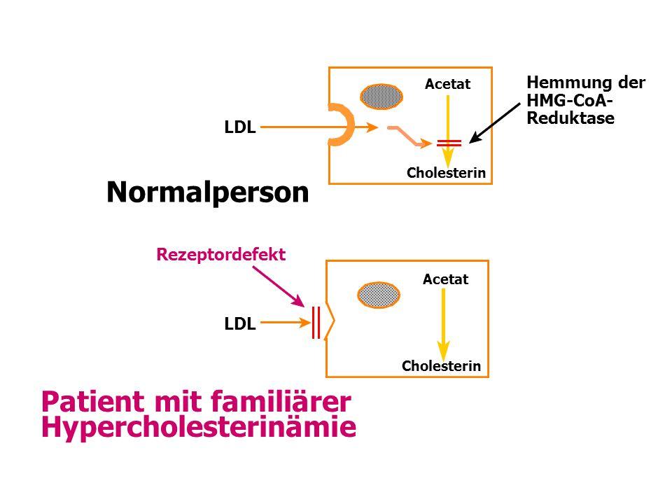 Patient mit familiärer Hypercholesterinämie