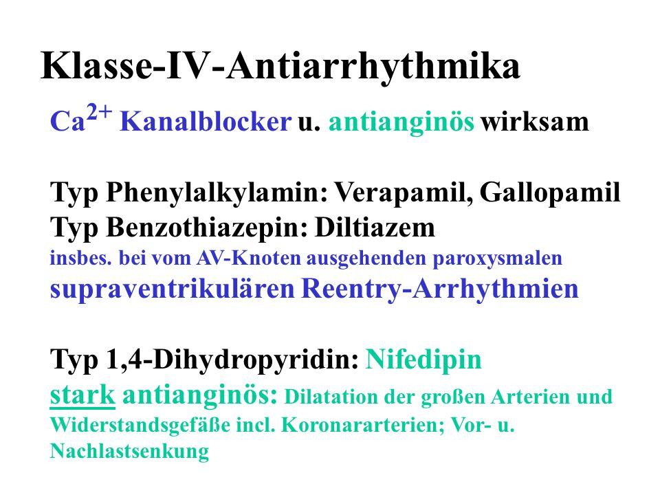Klasse-IV-Antiarrhythmika