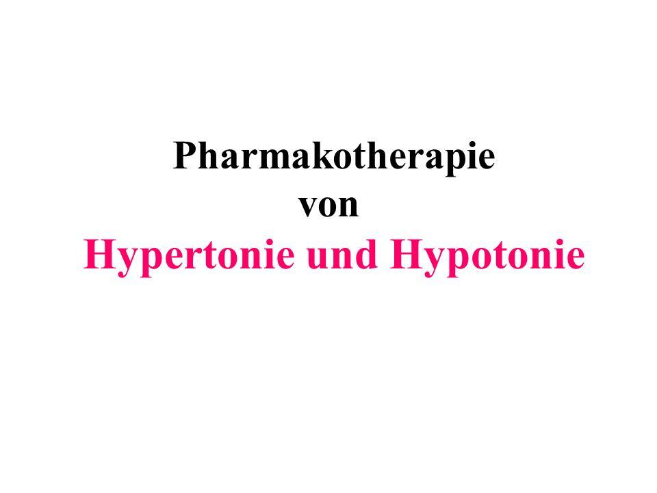 Hypertonie und Hypotonie